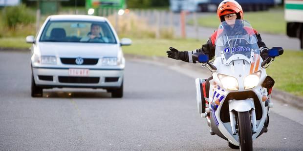 La police de la route a verbalisé 4 millions de fois en 2015 - La DH