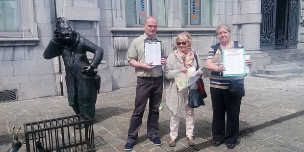 Namur: une pétition contre le wi-fi gratuit - La DH