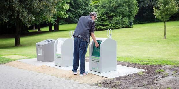 Les conteneurs enterrés à Seraing: une première européenne - La DH