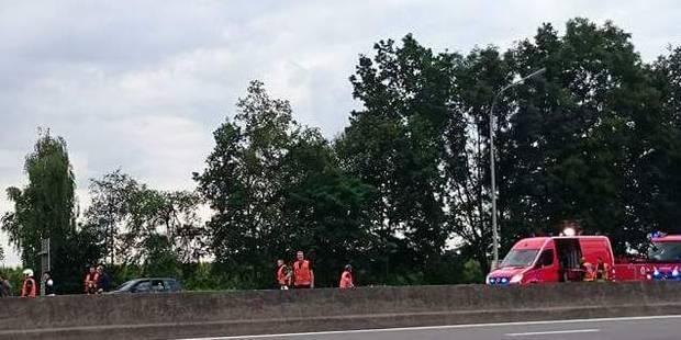 Terrible accident sur la E42 à hauteur de Saint-Georges: trois morts ! - La DH
