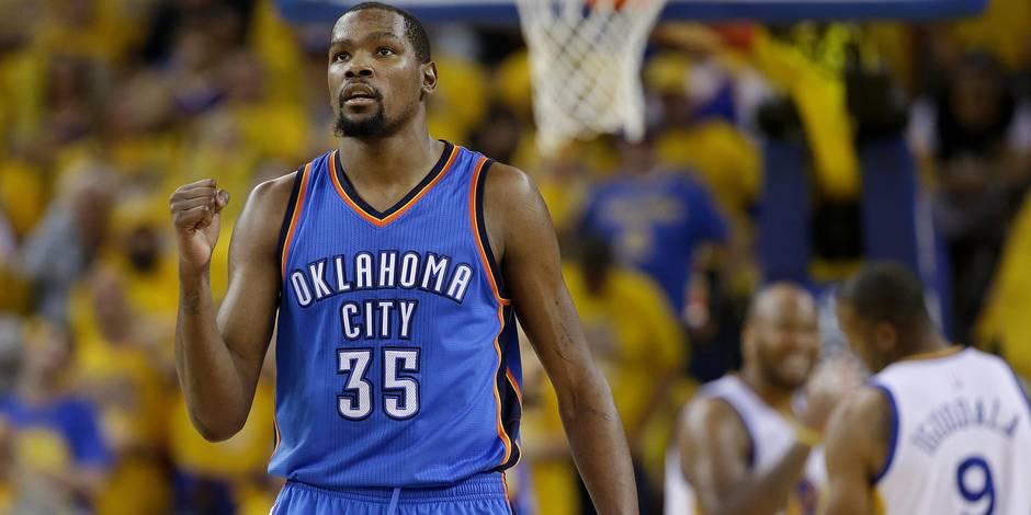 Coup de tonnerre sur la NBA, Durant rejoint Golden State