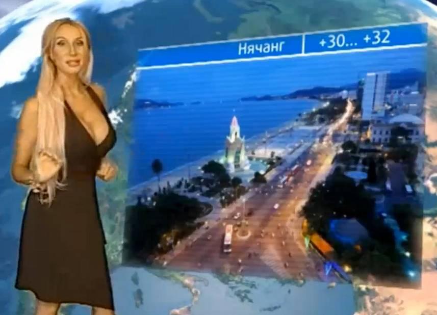 Femme russe sexy présentant