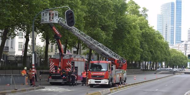 Bruxelles: la petite ceinture fermée suite à un accident