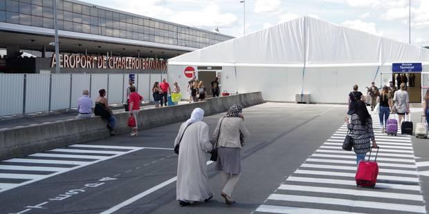 Aéroport de Charleroi: sécurité renforcée au BSCA - La DH