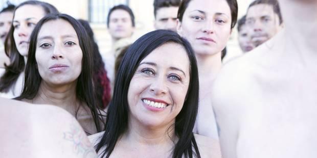 Quand 6000 Colombiens posent nus pour Spencer Tunick, on voit un élan de vie qui fait du bien - La DH