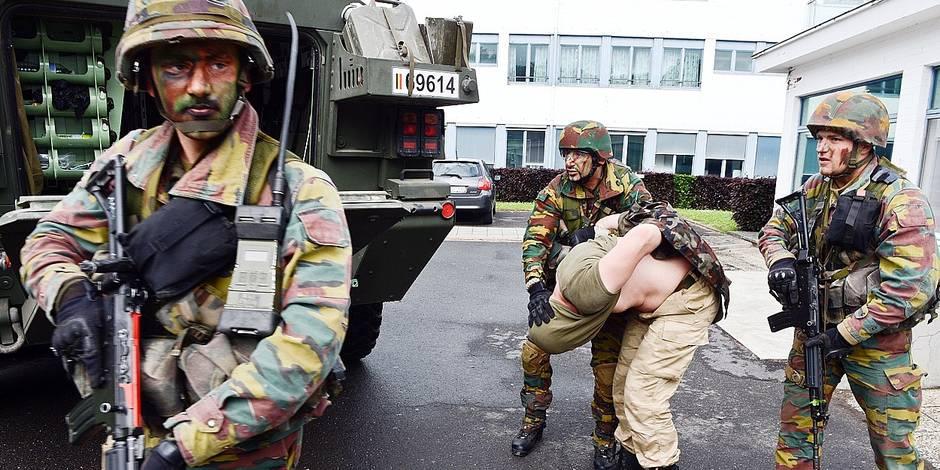 Armée, police? Tout ce qui pousse les Belges à s'engager - La DH
