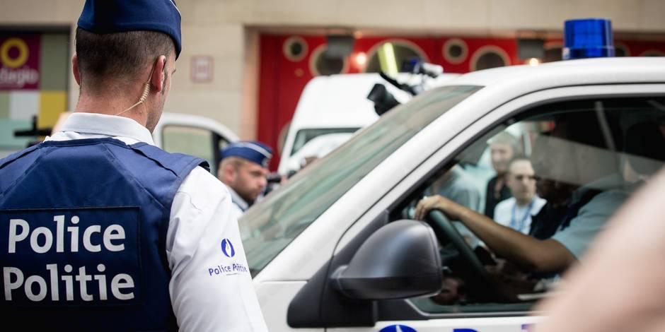 Course-poursuite à Saint-Gilles: deux suspects inculpés et remis en liberté après audition