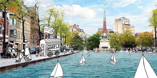 Bruxelles: le retour des bateaux sur la place Sainte-Catherine - La DH