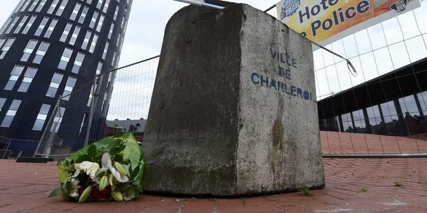 """Attaque à la machette à Charleroi: le SLFP Police tacle les politiques """"La seule empathie politique n'est pas suffisante..."""