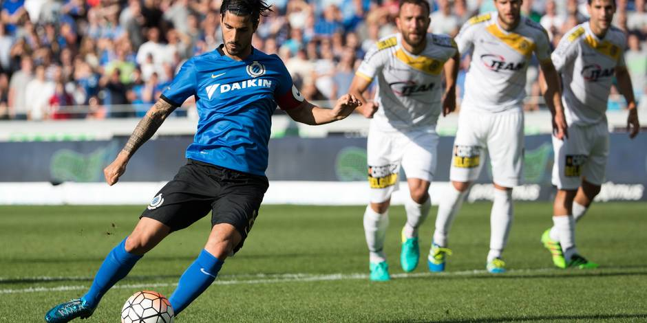 Seconde victoire de Bruges, qui s'impose par le plus petit écart contre Lokeren