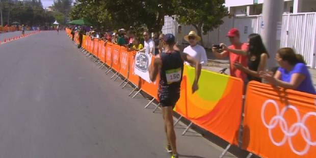 JO-2016/Athlétisme: Diniz, épuisé, transporté en clinique après le 50 km marche