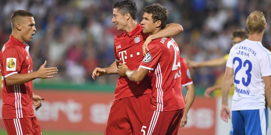 Coupe d'Allemagne: le Bayern se qualifie sans souci