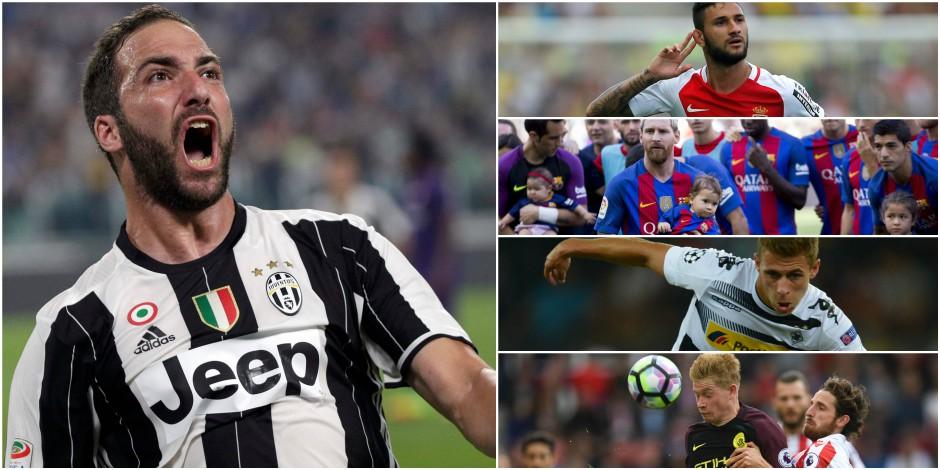 Le Barça et la Roma qui explosent le marquoir, Higuain qui réussit son entrée...: un samedi sur les pelouses européennes (VIDEOS)