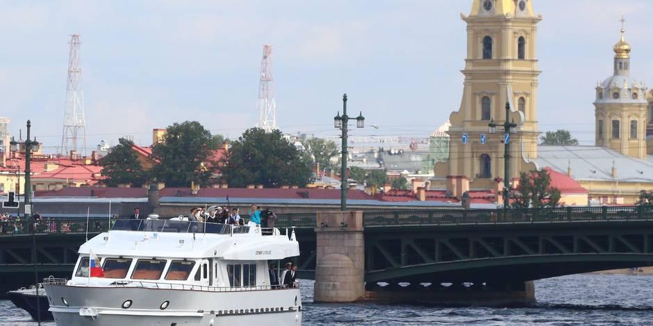 Le futur stade de Saint-Pétersbourg à l'arrêt