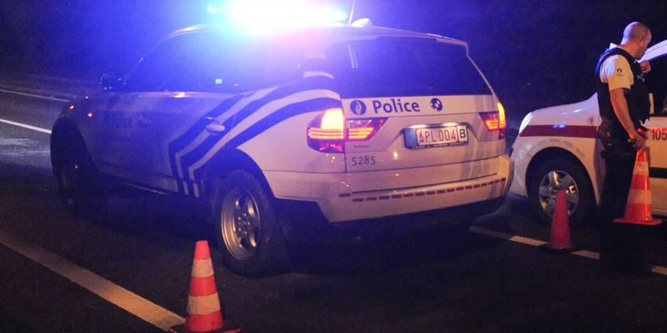 Le conducteur ayant provoqué l'accident des policiers hutois s'est rendu !