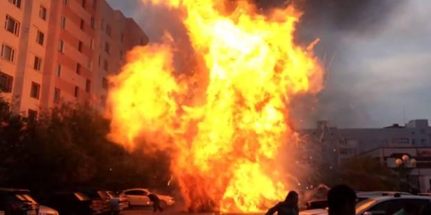 Il tente de réparer sa voiture, elle explose (VIDEO) - La DH