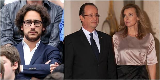 Les confidences de Thomas Hollande sur la vie amoureuse de son père - La DH