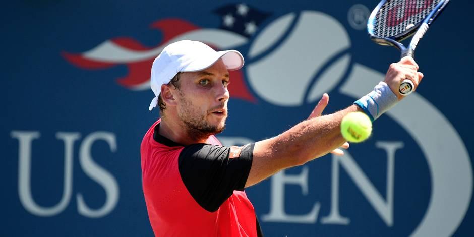 US Open: Darcis sauve une balle de match puis se qualifie pour le 2e tour!
