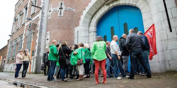 La grève à la prison de Mons a coûté 100.000 euros à la police locale - La DH
