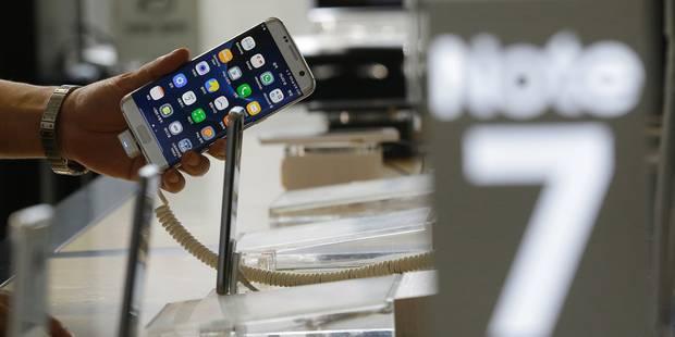 Samsung postpose le lancement en Belgique de son Galaxy Note 7 - La DH