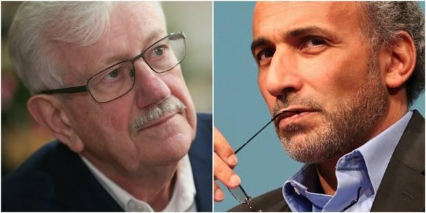 Radicalisme: la conférence de Tariq Ramadan et Philippe Moureaux à l'UCL qui fait polémique - La DH
