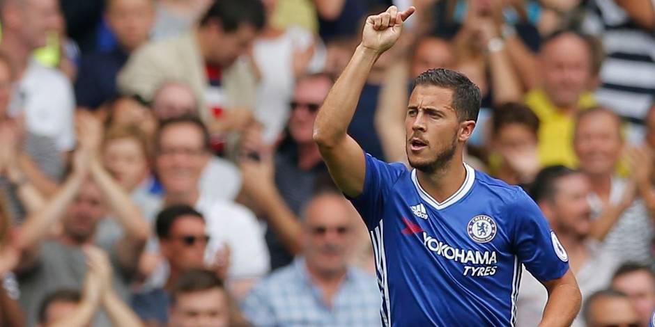 Eden Hazard élu joueur du mois d'août en Premier League