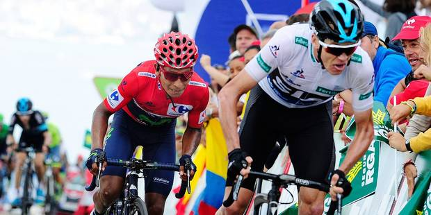 Latour s'offre une victoire de prestige, Quintana résiste à Froome — Vuelta