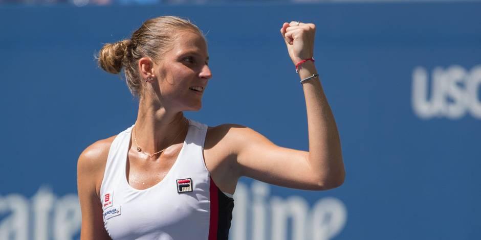 US Open: Pliskova s'offre sa première demi-finale en Grand Chelem