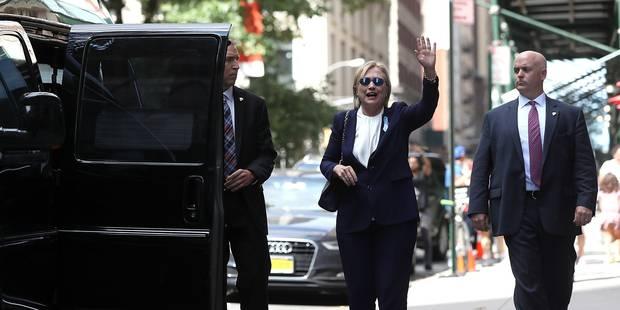 """Selon son médecin, Hillary Clinton """"a une pneumonie"""" et """"était deshydratée"""" (VIDEO) - La DH"""