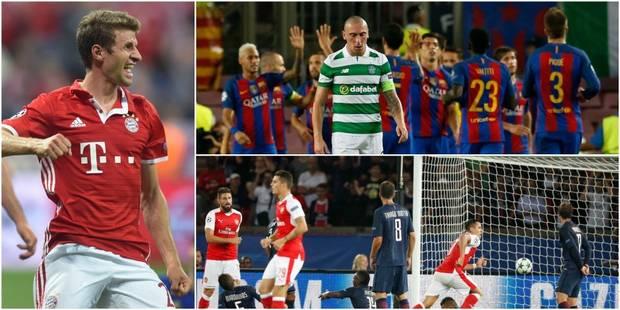 Ligue des Champions: cartons du Barça et du Bayern, de gros regrets pour le PSG face à Arsenal - La DH