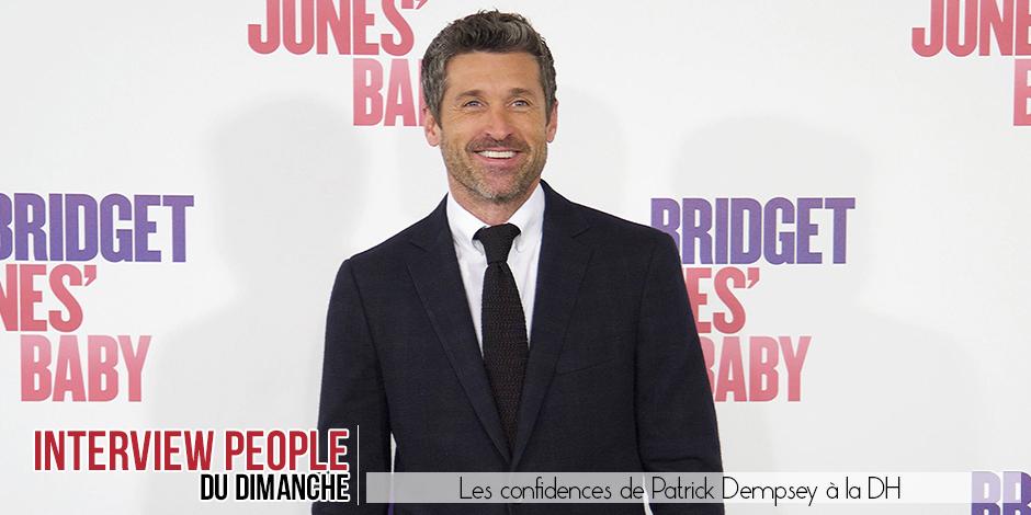 """La DH a rencontré Patrick Dempsey: """"Depuis mon départ de Grey's Anatomy, on racontait que je ne voulais plus être acteur..."""