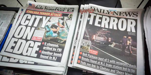 Attentats de New York et du New Jersey: le fait qui embarrasse les autorités - La DH