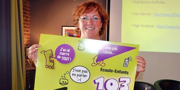103-Écoute Enfants : trop peu d'appels dans le Luxembourg - La DH