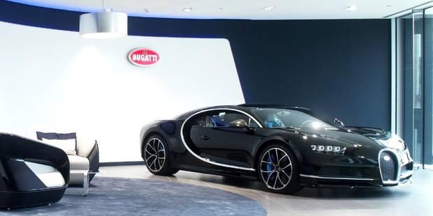 La Bugatti Chiron à Bruxelles - La DH