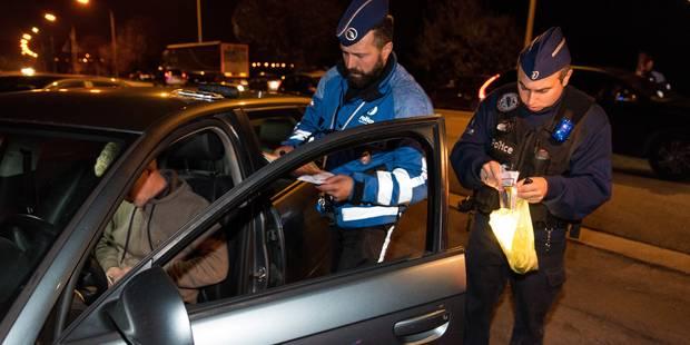 La Louvière : il récupère son frère, arrêté par la police, et provoque un accident