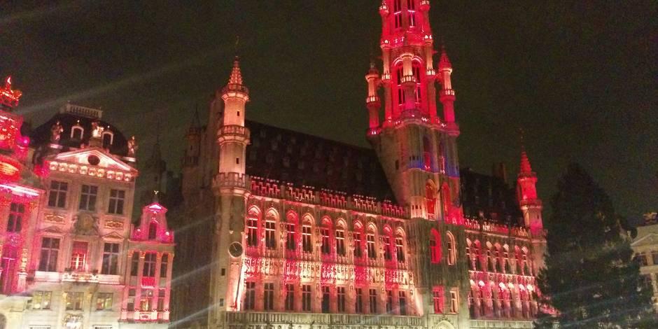 Ce soir, l'Hôtel de Ville de Bruxelles se parera de rose pour la lutte contre le cancer du sein