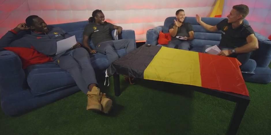 Artistes préférés, colles à l'école: quand les frères Lukaku et Hazard s'affrontent dans un quiz (VIDEO)