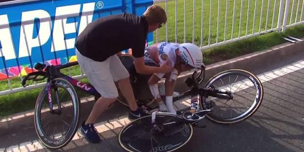 Chaleur étouffante aux Mondiaux de cyclisme: Une Néerlandaise fait un malaise sur son vélo (VIDEO) - La DH