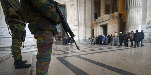 Alerte à la bombe levée dans deux bâtiments de justice à Bruxelles - La DH