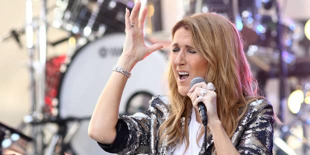 La drôle d'habitude de Céline Dion avant un concert: serrer un moulage de la main de René (VIDEO) - La DH