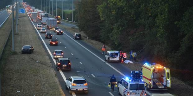 Templeuve: trois accidents bloquent la circulation sur l'autoroute A17/E403 - La DH