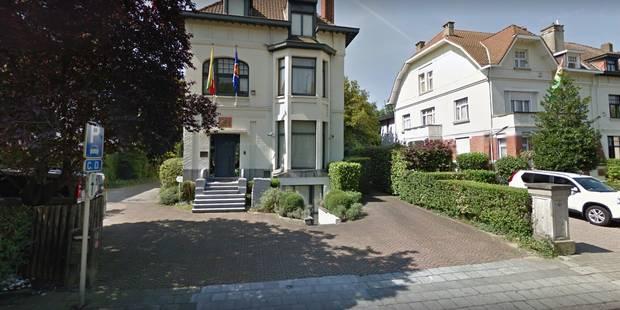 Alerte au colis suspect devant l'ambassade du Myanmar à Schaerbeek - La DH