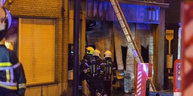 Le violent incendie d'Amay n'a pas fait de victimes - La DH