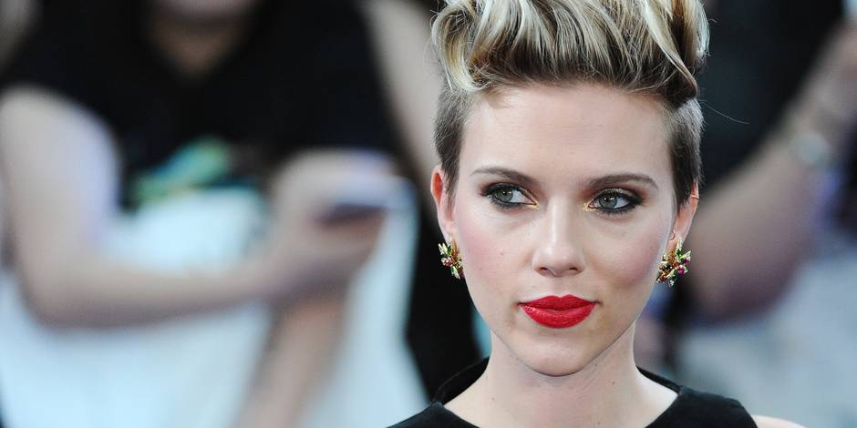 Scarlett Johansson, serveuse de pop-corn