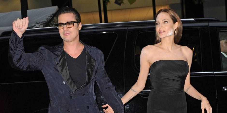 Brad Pitt n'a pas répondu à la demande de divorce d'Angelina Jolie