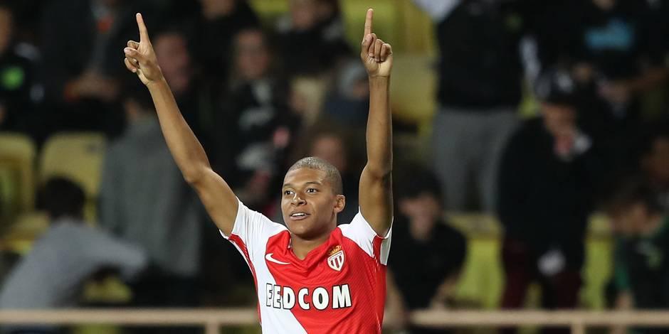 Ligue 1 : Monaco et Mbappé s'offrent un récital pour talonner Nice
