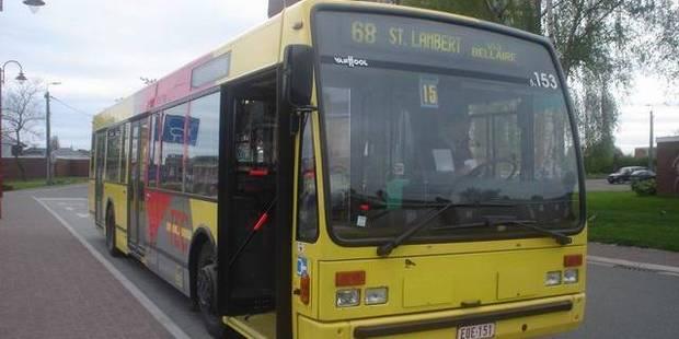 Fléron : il agresse un chauffeur de bus - La DH