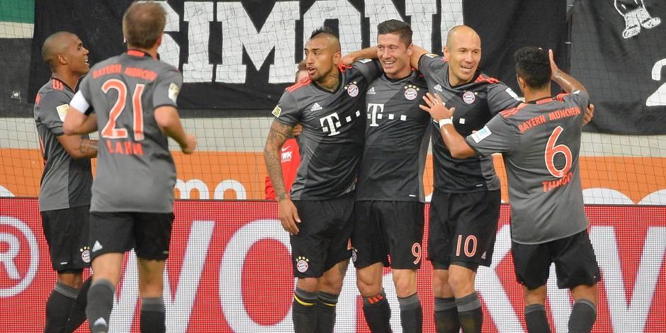 Bundesliga: Robben au sommet, le Bayern de nouveau souverain