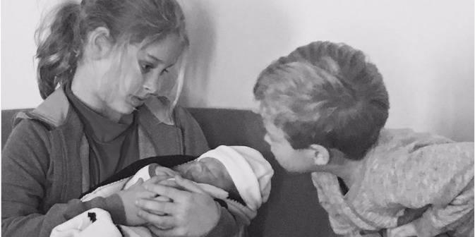 Kim Clijsters est maman pour la troisième fois (PHOTO)