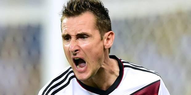 Miroslav Klose met fin à sa carrière - La DH